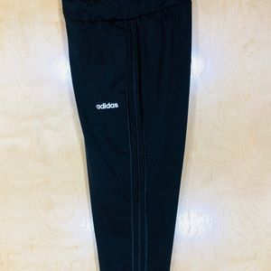 NWT Men's Adidas Black, 3 Striped Tapered Pants
